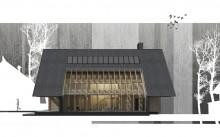 деревянный дом мин